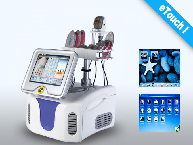 LCD Touch Screen RF Slimming Beauty Machine Home Cellulite Treatment Machine
