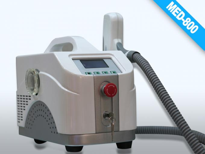Black Portable Q- switched Laser Equipment for Birth Mark Removal / Eyeline cleaning