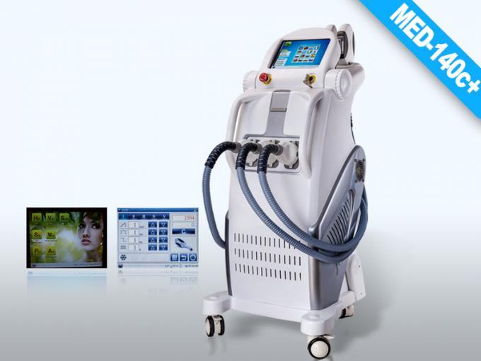 Intelligent Elight IPL RF Removing Hair Machine , Wrinkle Acne Pigmentation Removal Equipment