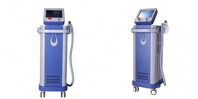 Vertical Machine Lightsheer Diode Personal Laser Hair Removal 808nm Beauty Equipment 43KGs