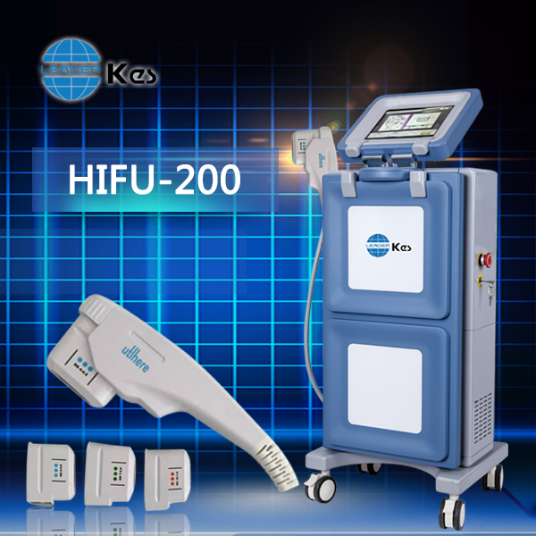 HIFU Machine Face Tightening Ultrasound Machine Extra Cooling Handpiece Interval distance 1 - 2mm