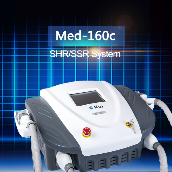 Permanent IPL SHR Hair Removal Equipment For Epidermis Speckle