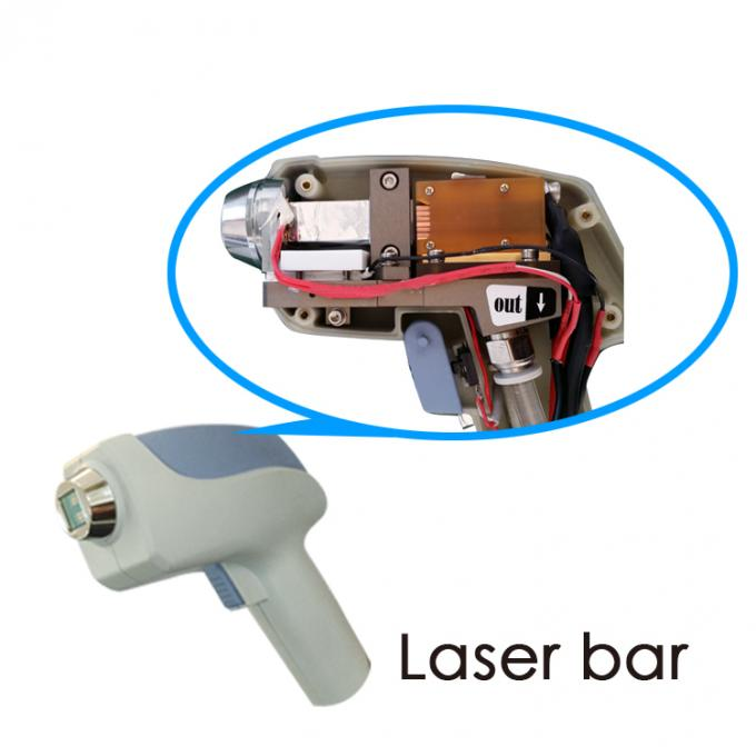 High Efficient No Paine Permanent Diode Laser Hair Removal Equipment , 13*13mm²