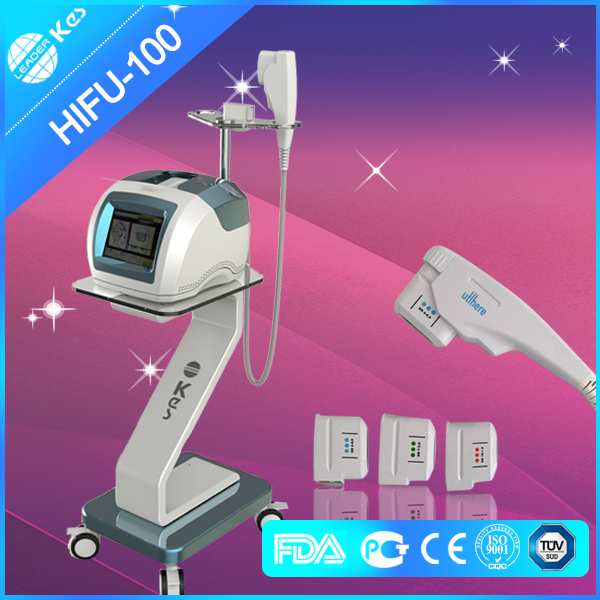 Vertical Portable HIFU Machine High Intensity Focused Ultrasound For Face  Lifting