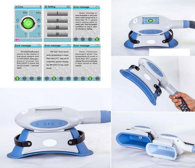 Cellulite Reduction / Cryo Fat Freezing Machine / Beauty Equipment With 10.4 TFT Color Touch Screen