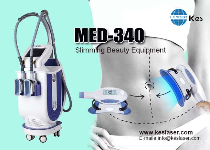 2 Handles Cryolipolysis Machine , Fat Freezing Weight Loss Machine MED-340