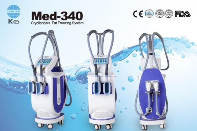 Innovative Cryolipolysis Freeze Fat Reduction Machine With 2 Handles Work Cryotherapy