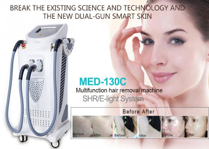 KES 2000W Vertical Beauty Salon IPL Hair Removal Machines SHR E Light MED-130C