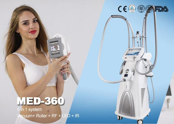Vacuum Rf Professional Weight Loss Body Slimming Machine Electrotherapy Equipment