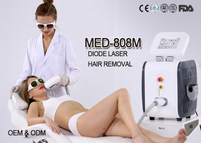 2017 KES Painless Hair Removal Treatment 808 Nm Laser Hair Removal Machine MED-808m