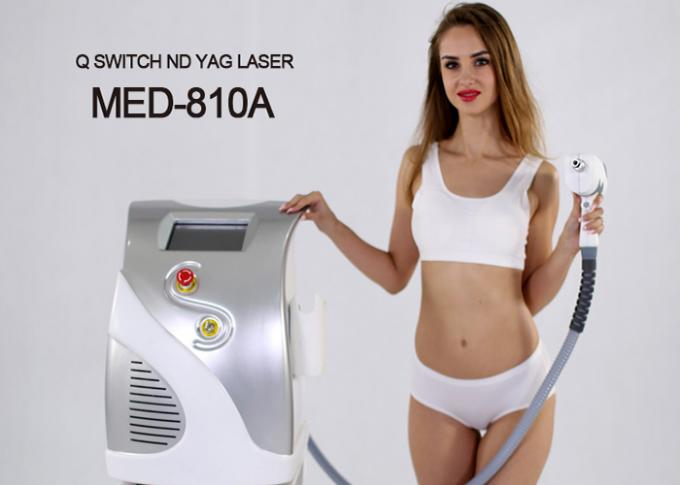 1064 ND YAG 532 KTP Q-Switched ND YAG Laser Tattoo Removal Machine Pigmentation Removal