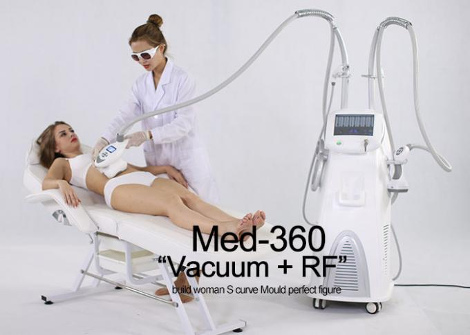 Multifunction Body Slimming Machine With Vacuum + Mechanical Roller + RF + LED + IR