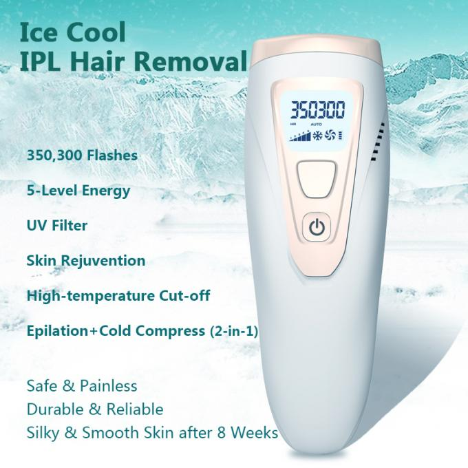 5 Levels Energy Home Mini IPL Laser Hair Removal System Machine