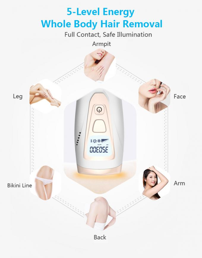 Portable mini Home use IPL hair removal device 3 in 1 MINI IPL hair removal skin rejuvenation Home