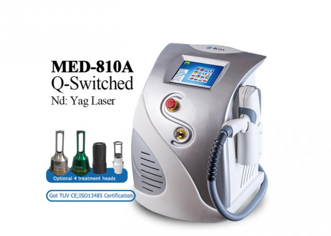1600Mj ND YAG Laser Laser Eyeliner Washing Eyebrow Removal Tatoo Removal with Medical CE approved