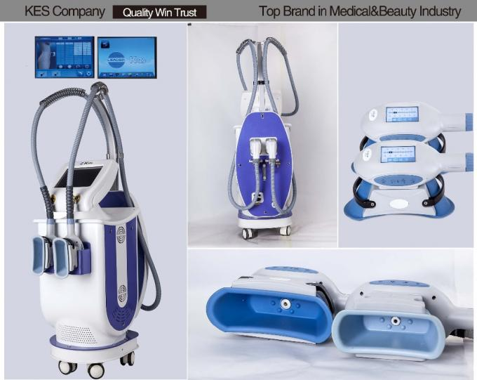 Kes 2 handles cool cryotherapy Cellulite Reduction & Body Tightening Cryolipolysis Machine For Beauty Salon