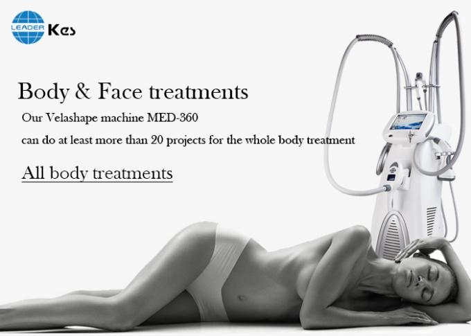 Vacuum roller RF body sculpting slimming Synergy face lifting machine med 360
