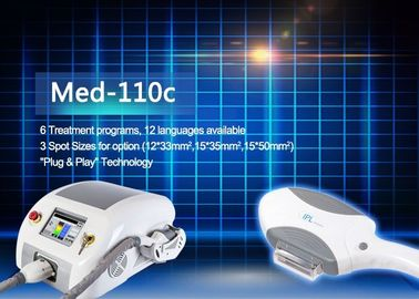 China MED - 110C 6 Treatment Programs IPL Hair Removal Machines With 12 Languages supplier