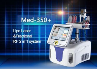 China Lipo Laser Handpiece and Fractional RF Treatment Handpiece RF Power 50w Rated Power 200w supplier