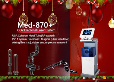China 635nm Fractional Co2 Fractional Laser Machine , Scar Removal Machine supplier