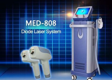 Amazing 808 nm Diode Laser Hair Removal Equipment For Male Peak Power 2000 watt