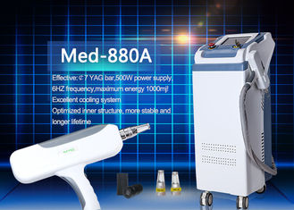 CE Approved Long Pulse Nd Yag Laser Hair Removal Machine 1064nm / 532nm