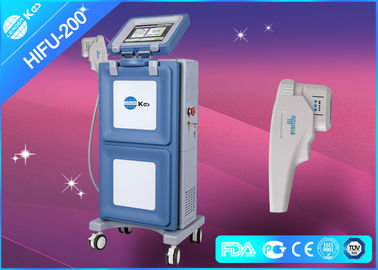 Vertical HIFU Ultrasound Machine Face Lifting Equipment 30W with 1.5mm & 3.0mm & 4.5mm