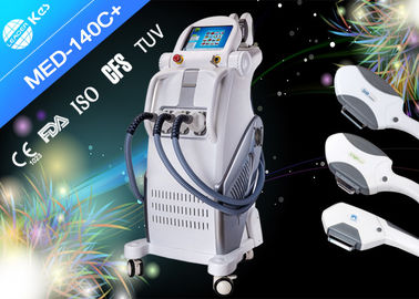 China 2500W IPL Hair Removal Machines E- light Skin Care Machine With 3 Handpieces supplier