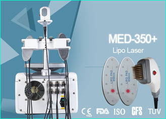 Multifunction 650nm Lipo Laser Body Shaper Machine Non - Ablative Rejuvenation