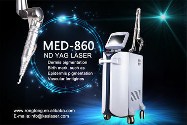 China 1064 Nm 532nm Q-Switched ND YAG Laser Machine For Tattoo Removal And Freckle Removal supplier