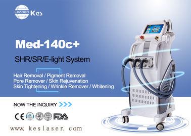 Pains Free  SHR Hair Removal Devices , Skin Rejuvenation Machine Med-140c+