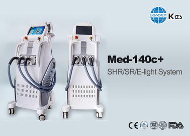 IPL E- Light SHR Hair Removal Multifunctional Ipl Laser Machine With Three Handpiece