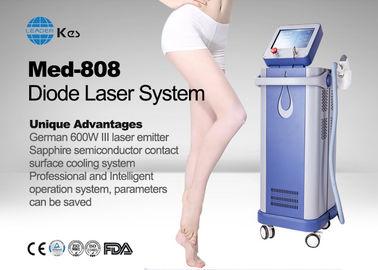 Germany 6 Bar Handpiece Laser Diode 808 Nm Hair Removal Machine , Laser Depilation Machine