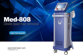 Kes New tech activeTEC cooling 808nm permanent painless diode laser hair removal with Germany laser bars