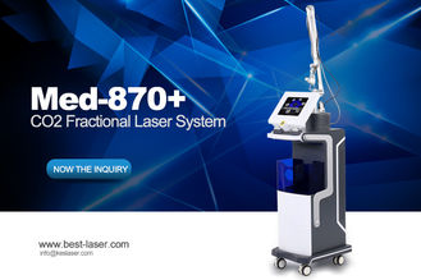 RF Fractional CO2 Laser Skin Rejuvenation Equipment / Scar Removal Machine