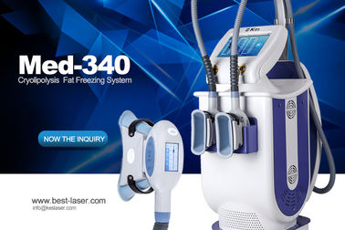 Beijing KES CE approved hot sale Cavitation vacuum freezing fat cell cryo slimming weight loss machine