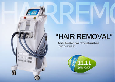 Professional IPL RF Beauty Equipment For Hair Removal , Permanent Hair Removal Machine