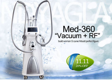 Velashape 4 Handles Vacuum Cavitation System For Body Contouring / Cellulite Reduction