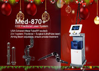 China 635nm Fractional Co2 Fractional Laser Machine , Scar Removal Machine factory