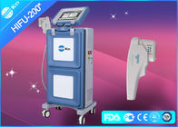 China Vertical HIFU Ultrasound Machine Face Lifting Equipment 30W with 1.5mm & 3.0mm & 4.5mm factory