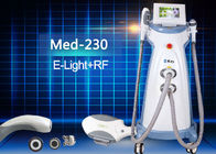 China Double Handles Vertical E light IPL Tattoo Removal RF Beauty Device factory