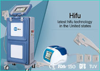 China Vertical Portable HIFU Machine High Intensity Focused Ultrasound For Face Lifting factory