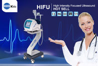 Portable Wrinkle Removal / Skin Rejuvenation HIFU Machine  2 In 1 For Salon