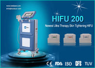 Three Cartridges Face Lifting High Intensity Focused Ultrasound Machine / Hifu System