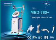 China Body / Arm RF LED IR Weight Loss Body Sculpting Machine Vacuum Cavitation System factory