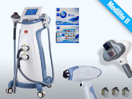 China Touch Screen White / Blue SHR Hair Remova Machine with 755nm - 815nm factory