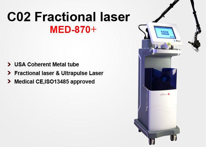 Medical Ce Approval Vertical Co2 Fractional Laser Scare