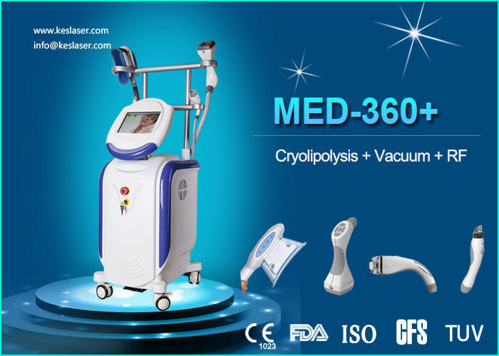 Body / Arm RF LED IR Weight Loss Body Sculpting Machine Vacuum Cavitation System