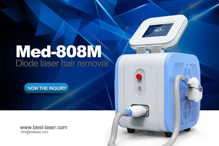Painless Hair Removal Treatment 808 nm Laser Hair Removal Machine