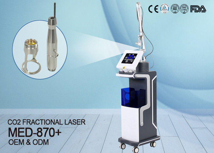 KES Beauty Clinic Use Co2 Fractional Laser Machine For Scar Acne Removal MED-870+